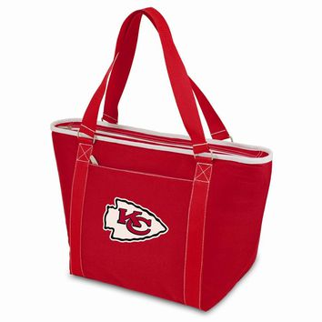 Kansas City Chiefs Insulated Red Cooler Tote