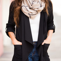Mai Plaid Scarf