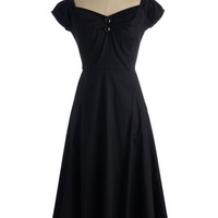 Pinup Long Cap Sleeves Fit & Flare Yes We Candor Dress
