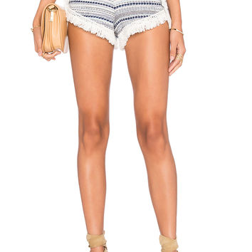Lovers + Friends Horizon Short in Blue Multi