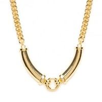Golden Circuit Necklace - ShopSosie.com