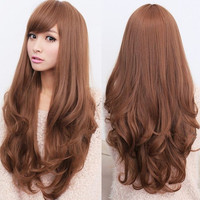 New style Fashion Long Curly Wavy Wigs Cosplay women's Girl Hair Full Wig Party = 5658550209