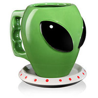 The Alien Mug and Saucer