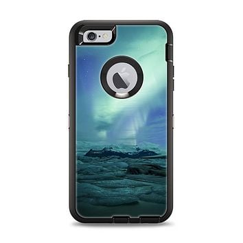 The Glowing Northern Lights Apple iPhone 6 Plus Otterbox Defender Case Skin Set