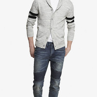 ALEC QUILTED SUPER SKINNY MOTO JEAN from EXPRESS