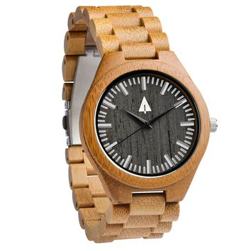 All Wood Watch // All Bamboo Noir