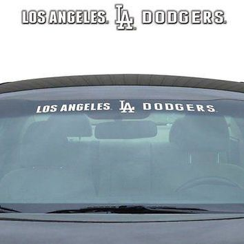 Los Angeles Dodgers MLB Licensed Auto Car Truck Windshield Decal