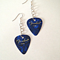 Guitar Pick Earrings made in Columbus OH!