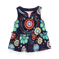 New Summer Style Lolita Style Floral 100% Cotton Dress Baby Dress And Children Dress Kids Clothes Girl Dress