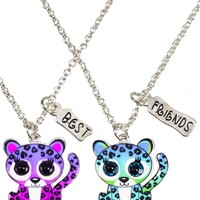 BFF Cheetah Necklaces