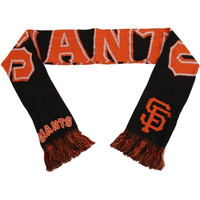 San Francisco Giants Wordmark Knit Scarf
