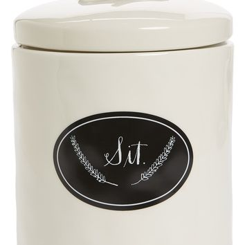 Rae Dunn Sit Dog Treat Jar | Nordstrom
