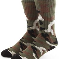 The Hundreds, Hovering Crew Socks - Camo - The Hundreds - MOOSE Limited