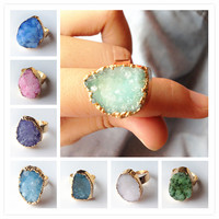 Druzy Ring Various Colors