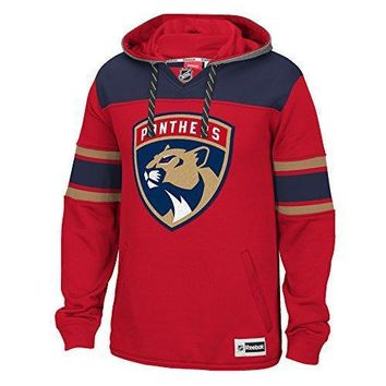 Nhl Florida Panthers Men's Face Off Jersey Pullover Hoodie Xx Large Red
