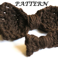 2 Bow Patterns - Crochet Bow Pattern - PDF Pattern Instant Download