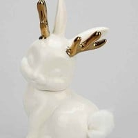 Jackalope Cotton Tail Canister- White One