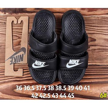 Nike Summer Hot Sale Woman Men Leisure Multicolor Sandals Slipper Shoes 6#