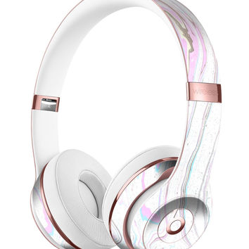 Mixtured Textured Marble v5 Full-Body Skin Kit for the Beats by Dre Solo 3 Wireless Headphones