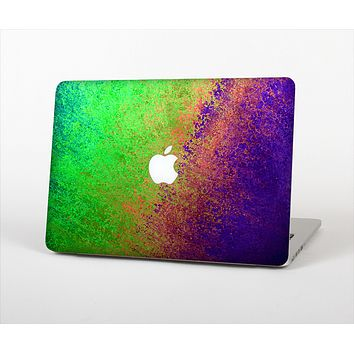 The Vivid Neon Colored Texture Skin Set for the Apple MacBook Air 11""