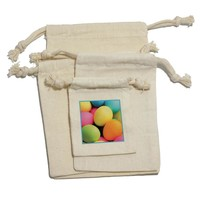 Colored Easter Eggs Gift Bag