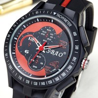 Couple Sports Korean Stylish Men Quartz Watch [10816520963]