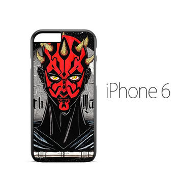 Darth Maul Star Wars iPhone 6 Case