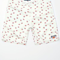 Yea Boardshorts - Mens Board Shorts - White
