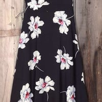 Cupshe End of the Night Blooming Slip Maxi Dress