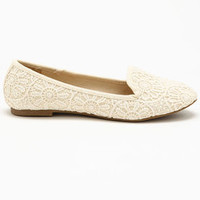 Flower Lace Flats - LoveCulture
