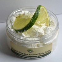 Organic Whipped Key Lime Coconut Body Butter