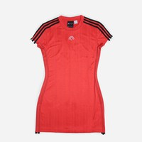 Adidas Originals adidas Originals by Alexander Wang Dress DM9686 | Core Red/Black Dresses| Clothing - Naked