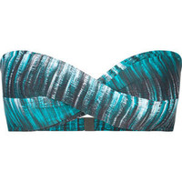 OAKLEY Graphite Stripe Bikini Top 203579249 | Swimsuits | Tillys.com