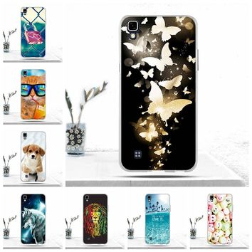 For LG X Power Case Soft Silicone TPU Back Cover for LG X Power K220 LS755 Case Cool Phone Case for LG X Power Covers Capas Bags