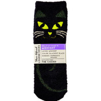 MIDNIGHT THE CATShea-Infused Lounge Socks