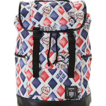 DC Comics Suicide Squad Harley Quinn Large Slouch Backpack