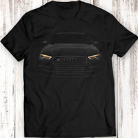 Audi S3 2016 T-Shirt Black Tee Women Men Gift Idea Garment Apparel 100% Cotton