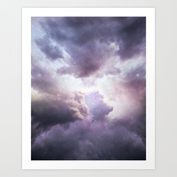 The Skies Are Painted II (Cloud Galaxy) Art Print by Soaring Anchor Designs