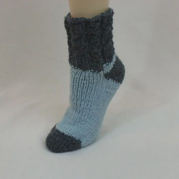 Wool Slipper Socks Thick Boot Socks From AllThingsTangled On