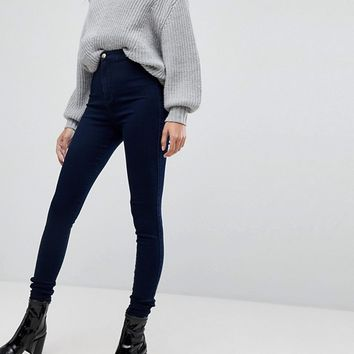 Missguided Tall Vice High Waisted Super Stretch Skinny Jean at asos.com