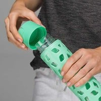 Pure Focus Glass Water Bottle