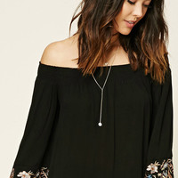 Contemporary Bell-Sleeve Top
