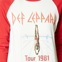 Def Leppard Graphic Tour Tee