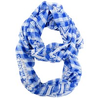 Kentucky Wildcats Infinity Scarf - Plaid