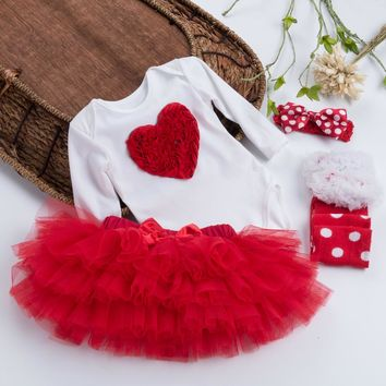 Red Hearts Valentines day Outfit