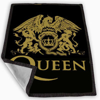 queen logo gold Blanket for Kids Blanket, Fleece Blanket Cute and Awesome Blanket for your bedding, Blanket fleece *