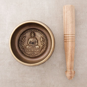 Tibetan Buddha Singing Bowl - 4 inch and 5 inch