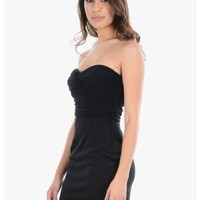 Black Tonight is The Night Sweetheart Cocktail Dress | $10.00 | Cheap Trendy Little Black Dresses C
