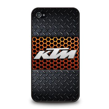 KTM RACING METAL iPhone 4 / 4S Case Cover