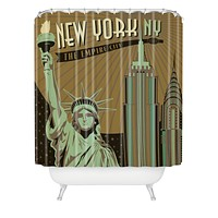 Anderson Design Group New York Shower Curtain
